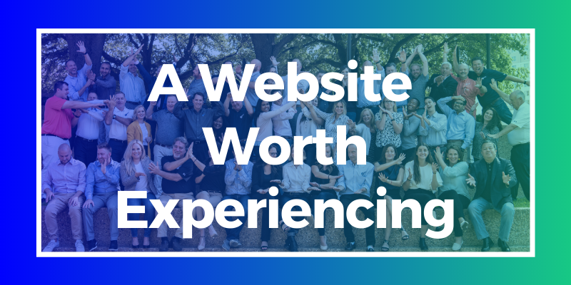 A website worth experiencing