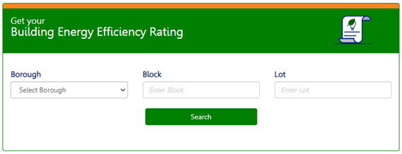 Get Your Building Energy Efficiency Rating