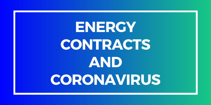 Energy Contracts & COVID19