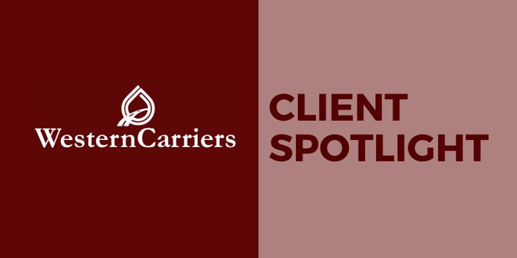 Client spotlight Western Carriers