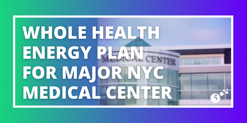 Whole Health Energy Plan for Major NYC Medical Center