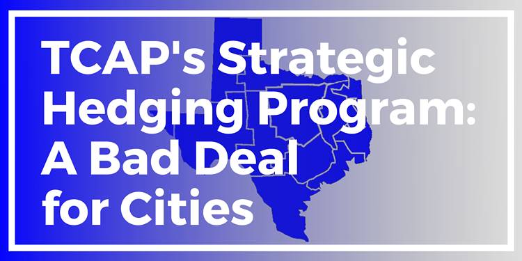 TCAPs Strategic Hedging Program A Bad Deal for Cities 2020