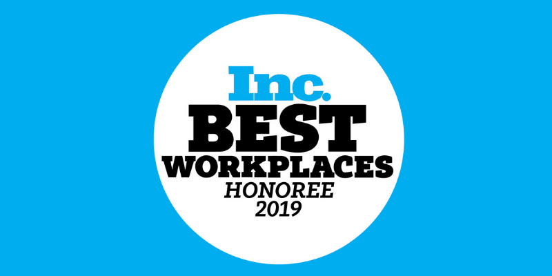 Inc Best Workplaces 2019